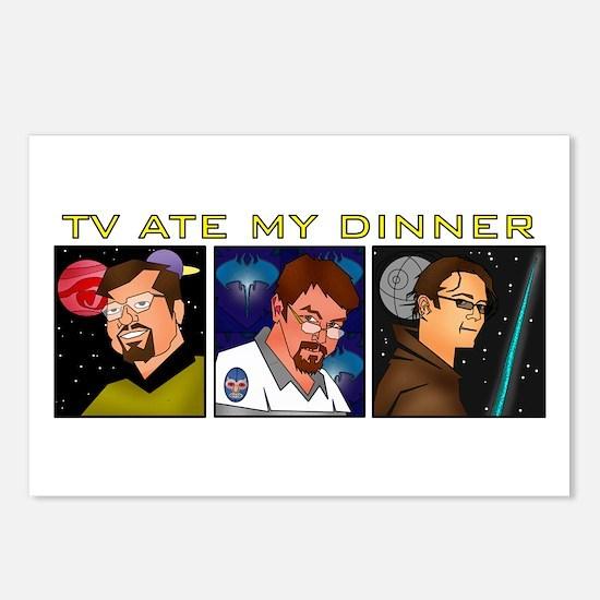 TV Ate My Dinner Postcards (Package of 8)