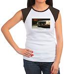 Nightpenguins is back! Women's Cap Sleeve T-Shirt
