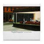 Nightpenguins is back! Tile Coaster