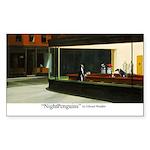 Nightpenguins is back! Rectangle Sticker 50 pk)