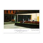 Nightpenguins is back! Mini Poster Print