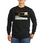 Nightpenguins is back! Long Sleeve Dark T-Shirt