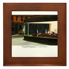 Nightpenguins is back! Framed Tile