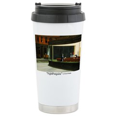 Nightpenguins is back! Stainless Steel Travel Mug