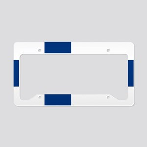 Flag: Finland License Plate Holder