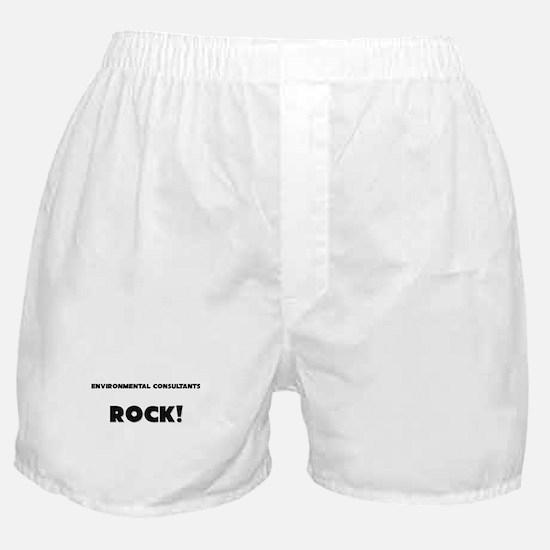 Environmental Consultants ROCK Boxer Shorts