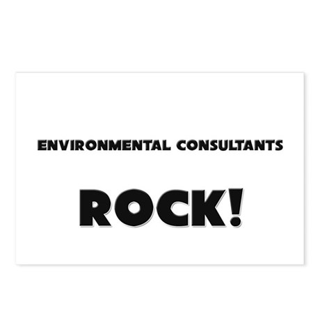 Environmental Consultants ROCK Postcards (Package