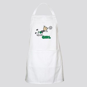Volleyball Girl BBQ Apron