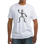 ILY Skeleton Fitted T-Shirt