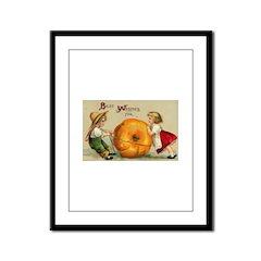 Good Thanksgiving Framed Panel Print