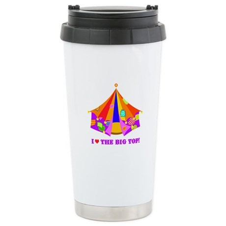 Patchwork Big Top Stainless Steel Travel Mug