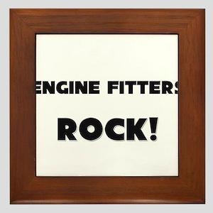 Engine Fitters ROCK Framed Tile