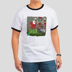 Santa's Helper Rottweiler Ringer T