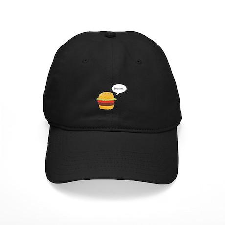 Bite Me Burger Black Cap