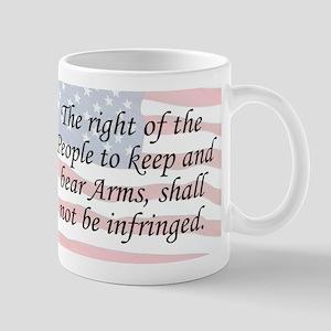 2nd Amend. / Flag Mug