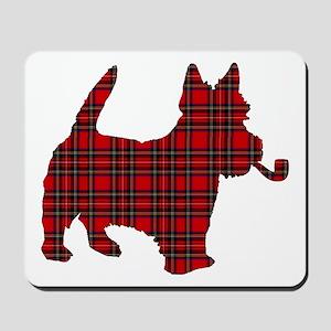 Scottish Terrier Tartan Mousepad