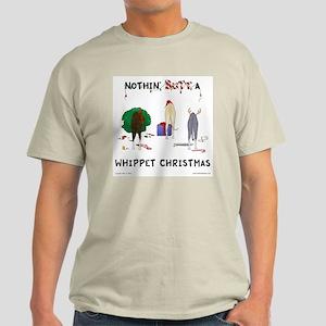 Nothin' Butt A Whippet Xmas Light T-Shirt