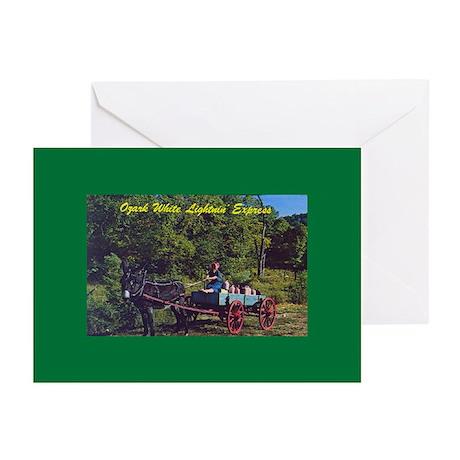 Ozark White Lightnin Greeting Cards (Pk of 10)