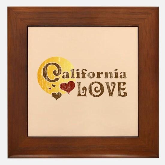 California Love Framed Tile
