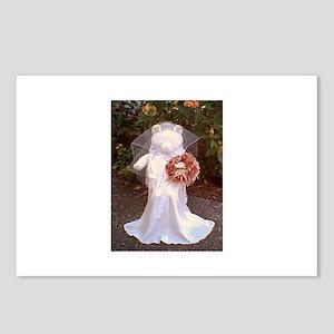 Martha Bear Bride Postcards (Package of 8)
