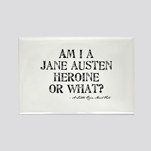 Jane Austen Quote Rectangle Magnet