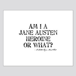 Jane Austen Quote Small Poster