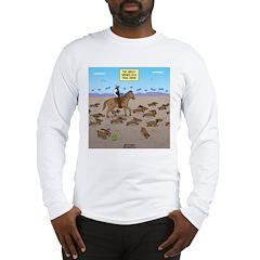 The Great Wiener Dog Trail Dri Long Sleeve T-Shirt