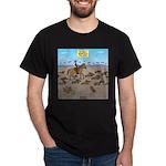 The Great Wiener Dog Trail Drive Dark T-Shirt