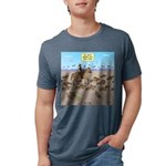 The Great Wiener Dog Trail Mens Tri-blend T-Shirt