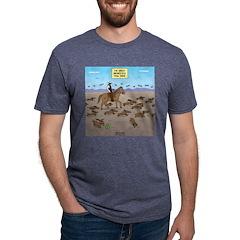 The Great Wiener Dog Trail Mens Tri-blend T-Shirt
