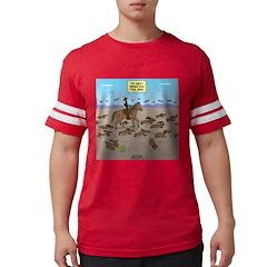 The Great Wiener Dog Trail Dri Mens Football Shirt
