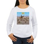 The Great Wiener Dog T Women's Long Sleeve T-Shirt