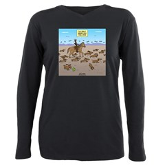 The Great Wiener Dog Tra Plus Size Long Sleeve Tee
