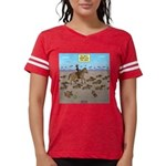 The Great Wiener Dog Trail D Womens Football Shirt