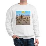 The Great Wiener Dog Trail Drive Sweatshirt