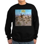 The Great Wiener Dog Trail Drive Sweatshirt (dark)