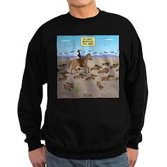 The Great Wiener Dog Trail Drive Sweatshirt (dark)