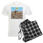 The Great Wiener Dog Trail Dr Men's Light Pajamas