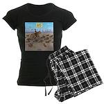 The Great Wiener Dog Trail D Women's Dark Pajamas