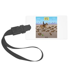 The Great Wiener Dog Trail Drive Luggage Tag