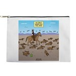 The Great Wiener Dog Trail Drive Makeup Bag