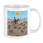 The Great Wiener Dog Trail Drive 11 oz Ceramic Mug