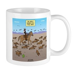 The Great Wiener Dog Trail Drive Mug