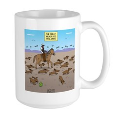 The Great Wiener Dog Trai Mug