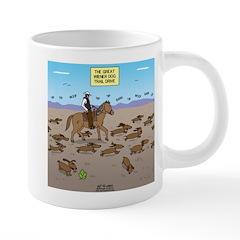 The Great Wiener Dog Trail 20 oz Ceramic Mega Mug