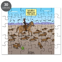 The Great Wiener Dog Trail Drive Puzzle