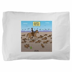 The Great Wiener Dog Trail Drive Pillow Sham
