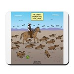 The Great Wiener Dog Trail Drive Mousepad