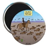 The Great Wiener Dog Trail Drive Magnet