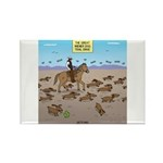 The Great Wiener Dog T Rectangle Magnet (100 pack)